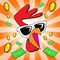 Rooster Booster - Idle Chicken Clicker icon