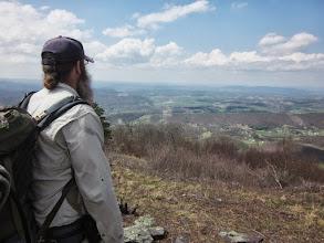 Photo: Bart looks over West Virginia