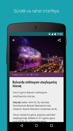 Oxu.Az - Azərbaycan Xəbərləri 2.4.10 screenshots 2