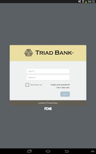 Triad Bank – Mobile Banking - screenshot thumbnail
