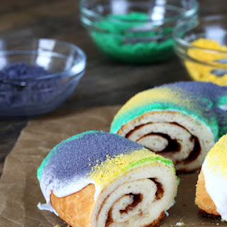 Gluten Free King Cake for Mardi Gras!.
