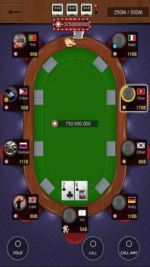 texas holdem poker king app