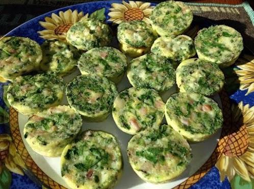 Turkey, Spinach, & Swiss Mini Quiche