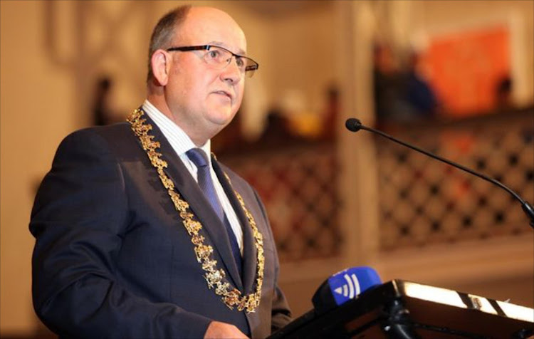Nelson Mandela Bay mayor Athol Trollip. File photo.