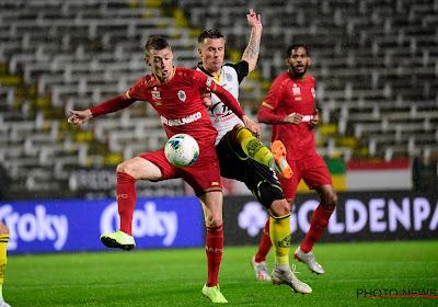 Sander Coopman startte tegen Lokeren een tweede keer in de basis voor Antwerp