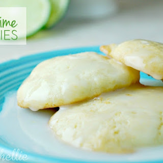Lime Soft Cookies.