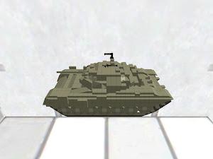 T-90A モデル借りました 鬼改造