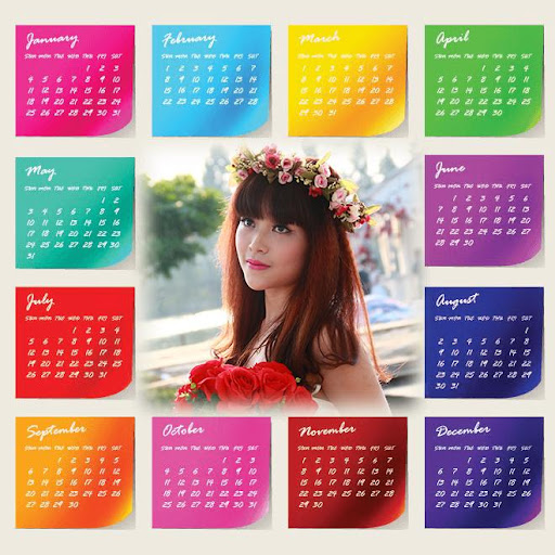Calendar Frame 2015