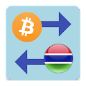 Bitcoin x Gambian Dalasi icon