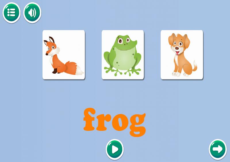 Скриншот Words for kids (free)