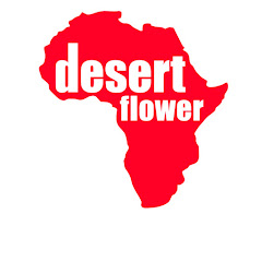 The desert flower foundation logo for charity supported by krys kolumbus travel