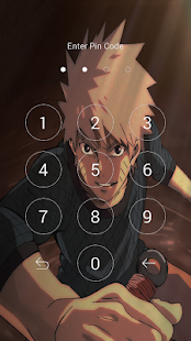 naгuto Anime lock screen - náhled