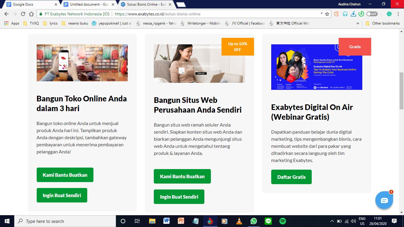 Exabytes Luncurkan Solusi Untuk Pindahkan Bisnis ke Online