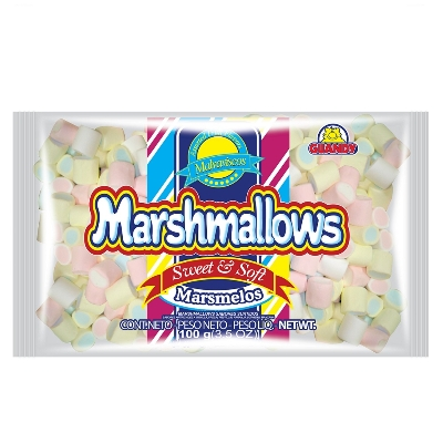 caramelos marshmallows tropical orig 100gr