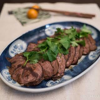 Soy Braised Beef Shanks.