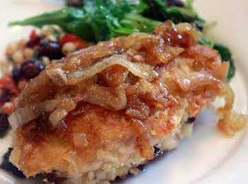 Chicken with Onions - no ordinary dish.