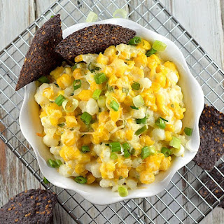 Hominy and Green Chile Dip {Vegan} - TheVegLife.