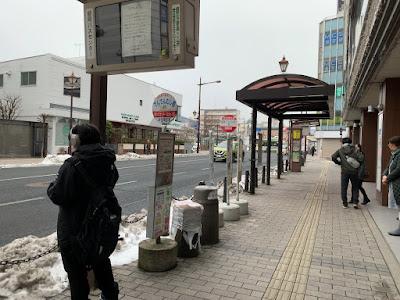 盛岡バスセンター(ななっく前)バス停(右まわり)