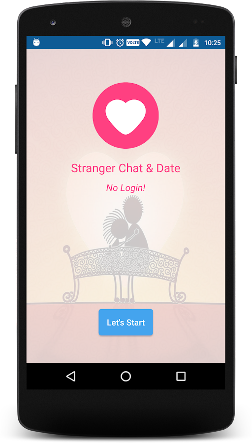 Stranger Chat & Date: captura de pantalla