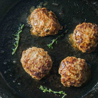 Low FODMAP Breakfast Pork Sausage Patties.