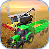 Farming Simulator 2018: Real Combine Harvester 3d