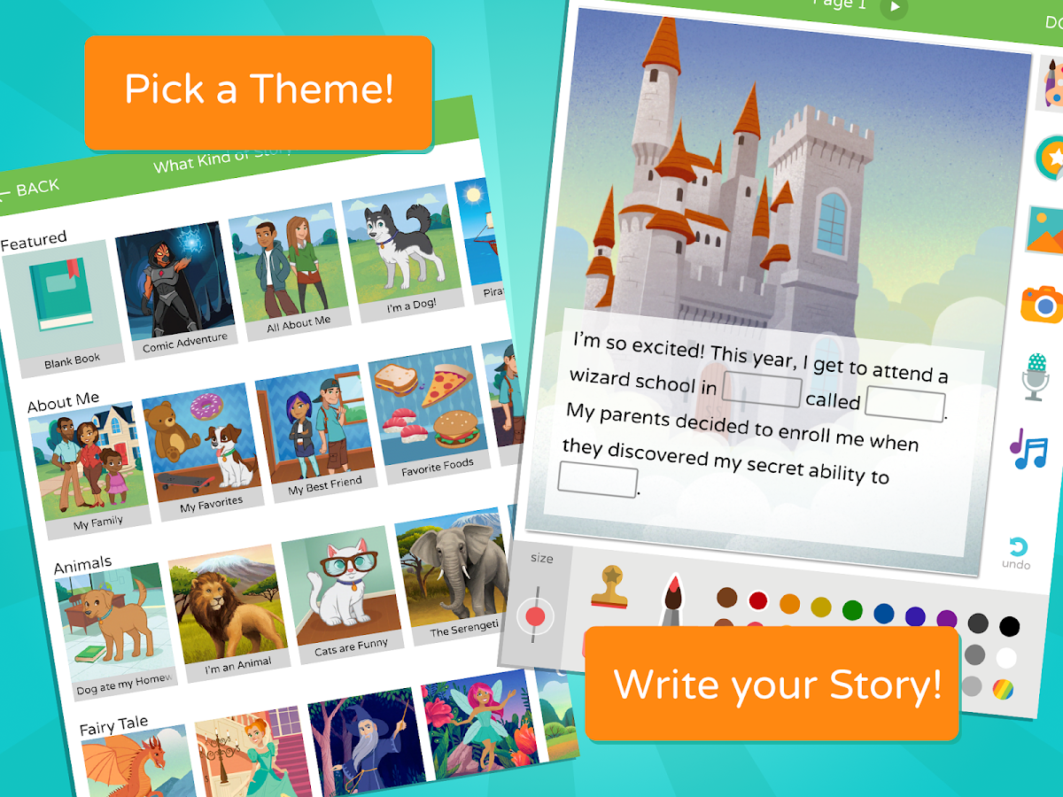 Scribble: Kids Book Maker- screenshot