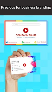 Digital Video Business Card Maker Mod Apk Download For Android 4