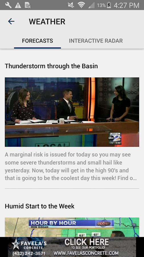 KMID KPEJ News YourBasin.com – Screenshot