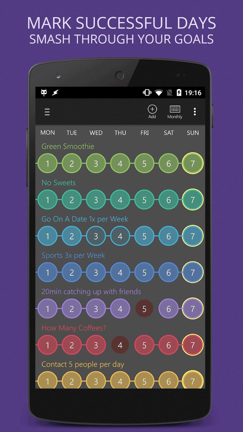 Habit Tracker Screenshot