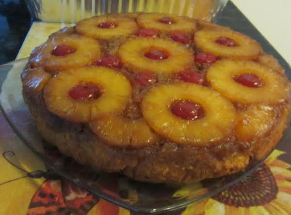Pineapple Coconut Upside Down Cake Recipe