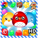 Candy Sweet Birds 3 : Match-3 icon