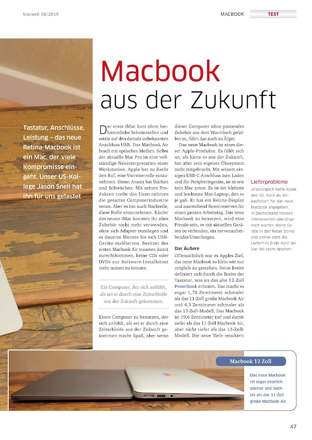 Macwelt- screenshot