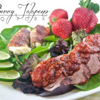 Strawberry JalapeñO BBQ Pork Tenderloin Recipe