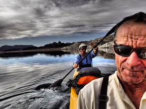Photo: Robert and Druce on Virgin Basin, Lake Mead