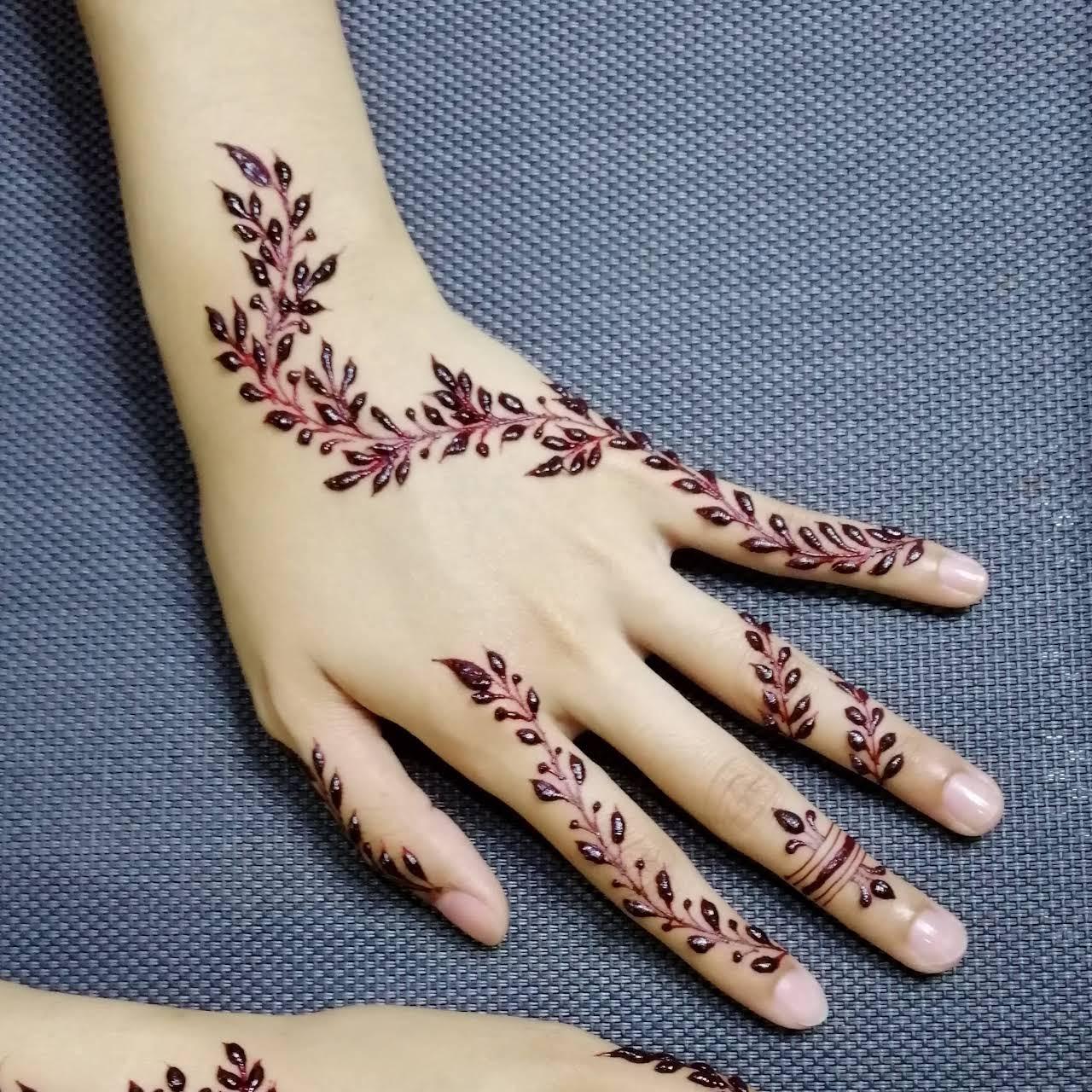 Henna Doodle By Hajar Kedai Inai Kahwin Henna Make Up