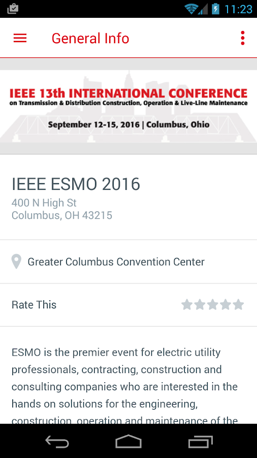 IEEE ESMO 2016- screenshot