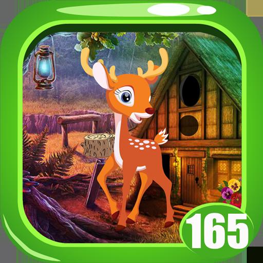 Cute Deer Rescue Game  Kavi - 165