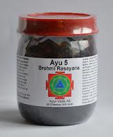 Ayu 5 Brahmi Rasayana. OBS! Bäst före 2019-11.