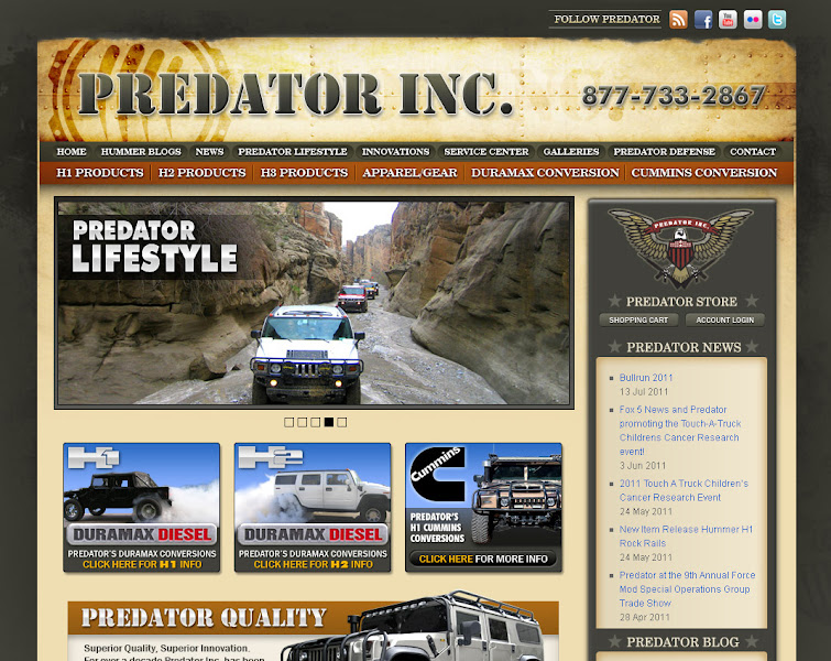 Photo: Predator Inc. Black Oak Casino Web Design and Development