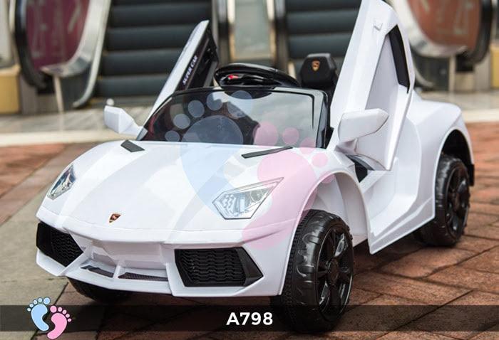 Xe ô tô điện trẻ em Lamborghini A798 10