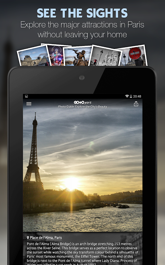 Paris Travel Guide & Maps- screenshot