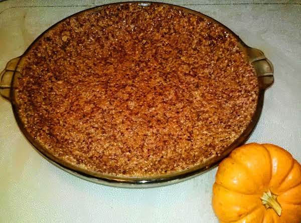 Candied Walnut And Cranberry Spice Pie Crust