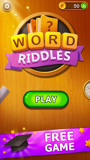 Word Riddles - Free Offline Word Games Brain Test apkmr screenshots 1