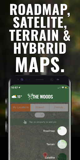 The Woods Hunting App - extend the hunt! 11.0 screenshots 4