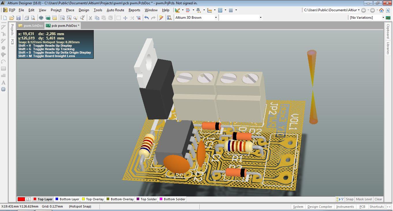 Phần mềm Altium mạnh về vẽ mạch - cửa hàng linh kiện điện tử Vietnic
