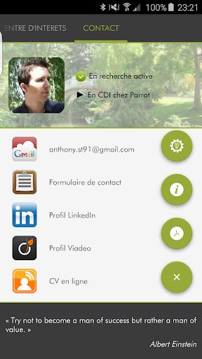玩免費商業APP|下載CV Anthony STEPHAN app不用錢|硬是要APP