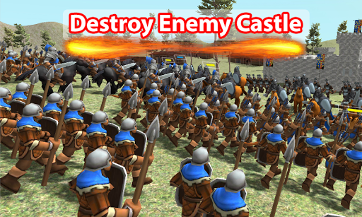 Medieval Wars: Hundred Years War 3D 1.3 screenshots 4