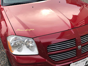マグナム  2005  R/T  HEMIのステッカーのカスタム事例画像 かっくん(team's lowgun東北)さんの2019年01月06日12:11の投稿