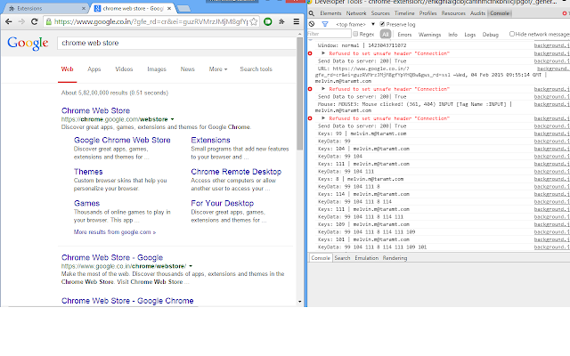 Chrome Monitor