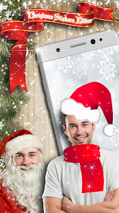 Christmas Photo Sticker Editor - náhled